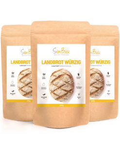 3er Set SlimBack Lower Carb Landbrot Würzig