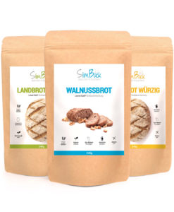 Lower Carb Probierpaket - 3er Set SlimBack